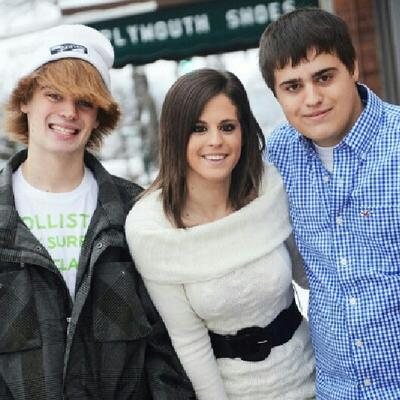 Jared, myself, and nate. our broken little family